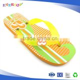 New development good quality yelllow fashion girl sandals 1 euro flip flops kids school shoes