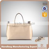 5011 Fashion Brand Design for 2016 Fall Genuine Leather Women Tote Bag with Long Shoulder Strap