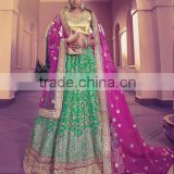 Adroid Sea Green Net Lehenga Choli/fancy lehenga choli/Lehenga Choli Wholesaler In India