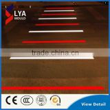 Durable LED Plastic Road Lighted Tile Colorful Tile For Sidewalk Pathway Street LED light