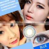 3-tone brilliant colored contact lenses ready lenses for big eyes in stock
