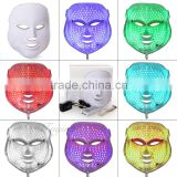 630nm Blue New Arrivail Anti-aging PDT Beauty Machine Led Light Therapy Face Mask 7 Colors Freckle Removal