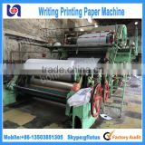 1092mm Writing paper making machine with scientific design and superior quality Stock For Sale ! Popular In Home and Abroad !