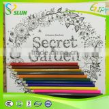 2015 Hot Sale English Secret Garden Book,Good Quality Secret Garden Coloring Book,New Design Secret Garden For Children's Gifts