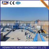 Widely used belts conveyor for manganese ore beneficiation plant