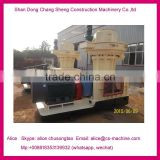 227 roller move die stable biomass sawdust pellet machine with high capacity