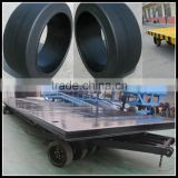 Cheap warehouse or airport trailers parts press on solid tire 22x9x16 18x7x121/8 21x8x15 28x12x22
