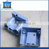 Hard plastic injection molded case