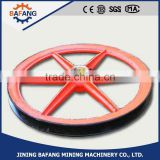 The winch accessories mining wire rope pulling hoist sheave