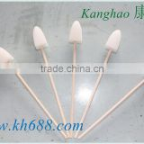 Factory directly sell triangle shape sterile oral swab, foam tipped oral swabs,disposable oral swabs,medical foam