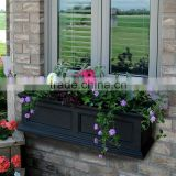 Fiberglass wall vertical garden planter flower pot
