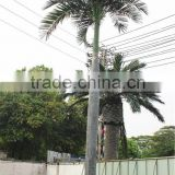 Home garden decoration 100cm to 1000cm Height artificial indoor live plastic ficus red with green palm tree EZLS05 1007
