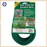 PVC Plastic Coated Soft Twist Tie Wire for Garden Tools