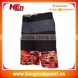 Hongen apparel custom school swimming team own brand swimwear / swim team swimming shorts