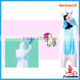 2015 Plus size adult unicorn onesie pajamas