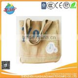 customized jute shopping bag