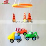 felt stuffed cars toy baby boy mobile hanging
