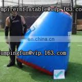 0.9mm PVC inflatable paintball bunker for shooting ID-PB001