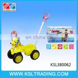 Best design plastic trolley walker baby with music and light
