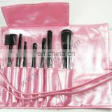 Metallic PU Cosmetic Brush Bags For Ladies