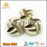 Guangdong Factory Wholesale Custom Cheap Garment Accessories Gold Buttons for Coat