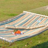Double Pure Cotton Hammock with Sticks