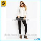 Top Quality Brand Name Women High Waiste Denim Jeans Skinny Jeans