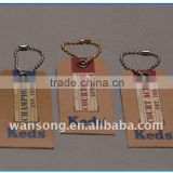 Hot seling custom kraft paper hang tag , jeans hang tag