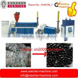 PE PP Granule Waste Bag And Film Pelletized 2 Stages Noodle Cutting Plastic Recycling Machine