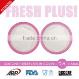 Dia.11.5cm Silicone Preservation Cover Pot Lid