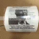 Donald Trump Printed Toilet Paper Roll