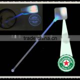 led flashing stirrer,bar accessory led flashing stirrer,led stirre,led coktail stirrer,pub supplies led promotional stirrer