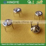 Metal Nail Head With Rhinestone Prong Studs For Handbag/Shoes/Clothes --- A015                                                                         Quality Choice