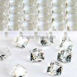 AAA Quality Wholesales Point Back Loose Shapes Cube Crystal Glass Beads for Jewelry Cloth Phone Decorating Cheap