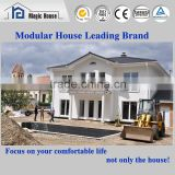 Water Proof, Earthqauke Proof Of Grade 9 and 80% Labor Cost Saving Prefabricated Modular Villa House