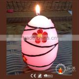 2016 EASTER Magic Color Changing LED wax candle with real wick