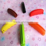 Eco-friendly silicone bag holder handle high quality