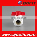 Zhejiang factory plastic pvc foot valve made in china