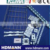 Iron galvanized wire basket cable tray