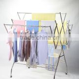 Multifunctional Stainless Steel Clothes Drying Rack Hanging Clothes Rack Cloth Dryer WF-001 Malaysia