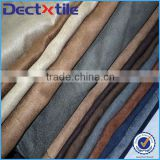 Suede dyed leather fabric suede blazers fabric for clothing materials/home textile/shoes