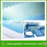 pp nonwoven sms fabric for surgical gown,fabric sms material for face mask, custom sms fabric
