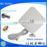 High Power wifi router 3G 4G Industrial antenna External Antenna with 2 cable
