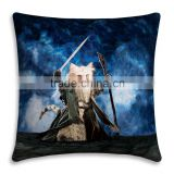 cotton cushion cover fashion bed sofa custom printed pillow cases