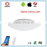 Superior multi color led ceiling light color changing LED ZigBee/SmartRoom phone control designer ceiling lights