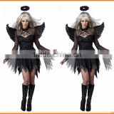 Europe and the United States Halloween Costume Black Angel sey movie role play clothing dark temptation devil clothing