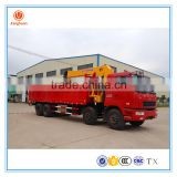 truck mounted crane manufacturers 14 ton cranes trucks/truck bed hoist crane/crane mounted trucks for sale