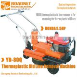 thermoplastic road marking paint remover