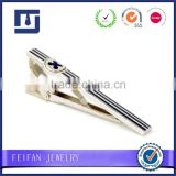 Mirror Polish Promotional Custom Metal Tie Pin Tie Bar