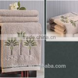 2015 new design luxury hotel bath towel sets